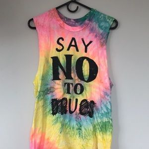 UNIF say no to u tee